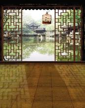 Chinese Traditional House Photography Backdrops Photo Props Studio Background 5x7ft