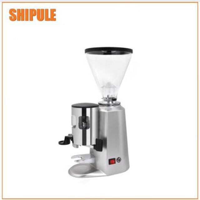 Commercial household electric coffee bean grinder