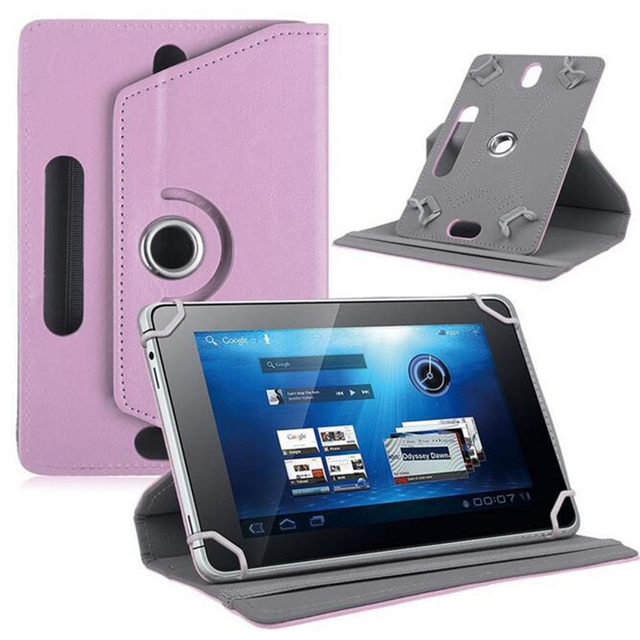 Durable Tablet PC Case Anti-Scratch 360 Degrees Rotation Leather Protector Sleeve Universal Case Accessories