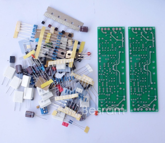 kits Stereo L12-2 Class AB Audio Power Amplifier Board 2-Channel AMP 120W