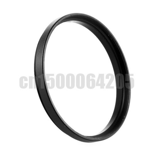 Free shipping 2ps Black Step Up Filter Ring 52mm to 52mm 52mm-52mm 52-52mm