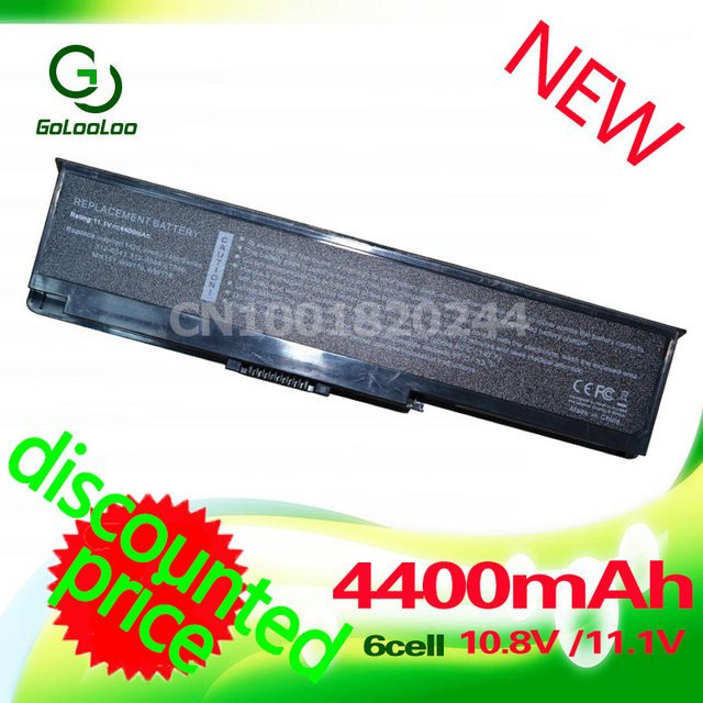 Golooloo 4400MaH Laptop Battery for dell Inspiron 1420 Vostro 1400 312-0543 312-0584 451-10516 FT080 FT092 KX117 NR433 WW116