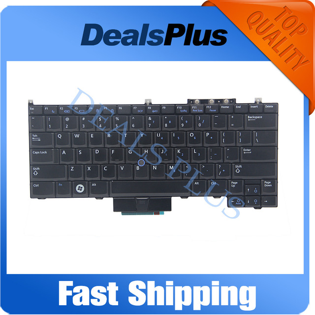 Brand New For Dell Latitude E4300 Series US Keyboard With Point Stick Black
