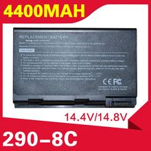 ApexWay 4400mAh Battery For Acer TravelMate 290 4652  4654  4655 4150 4152 4153 4154 4650 293 293 291
