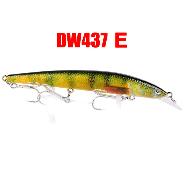 1PC Fishing Lures 11.5cm Plastic Hard Bass Baits 6 Colors Minnow Lures spinners spoon bait feeder rod fishing soft lure 01
