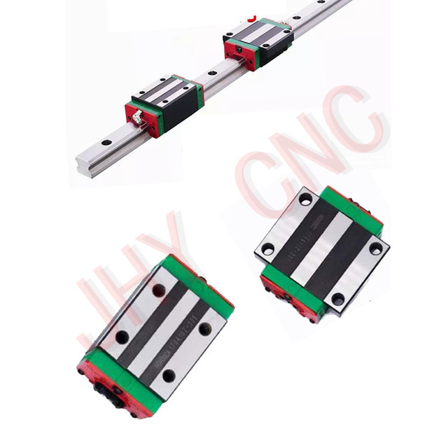 Guide rail profile Bearing Pillows Linear Actuator Parts HGW15-650mm QUALITY CONTROL