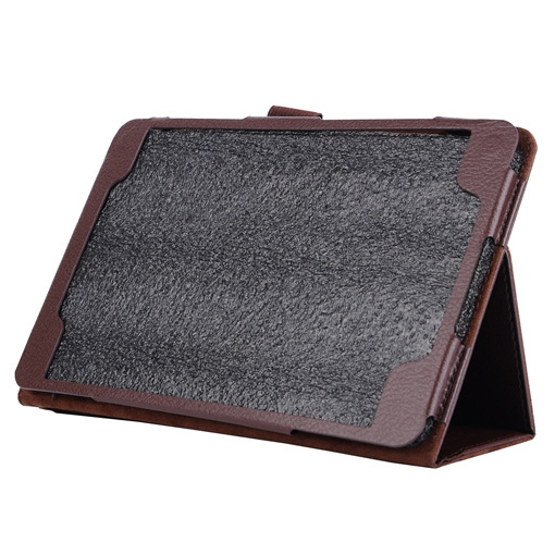 """Flip Leather Case Cover Stand for Samsung Galaxy Tab A 8.0 """"T350 Brown"""