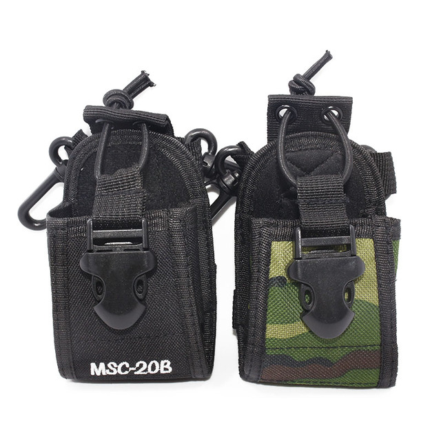 Baofeng MSC-20B Multi-Function Pouch Bag Holster Carry Case for Baofeng UV-5R UV-82 BF-888S TYT Wouxun Walkie Talkie