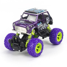 Children Toys 1:36 Diecast Vintage Car Model Pull Back Metal Alloy Simulation Car Birthday Christmas Gift For Kids Toy Vehicles