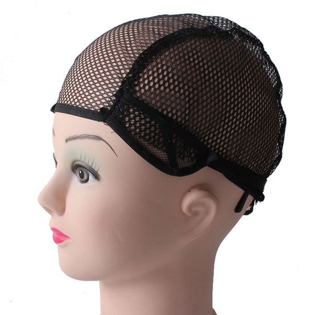 Hot Sale Good Quality Hairnets Mesh Weaving Black Wig Hair Net Making Caps Weaving Wig Cap & Hairnets