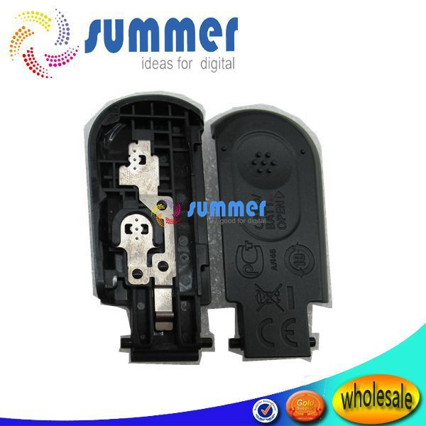 original  black  A800 door cover  for  canon A800   battery cover   repair parts  free shipping(There are flowers mark)