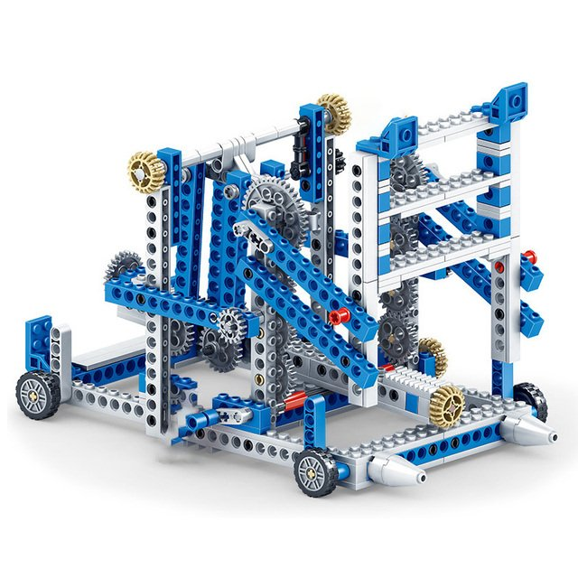80pcs+ Science education toy brick gear mechanical puzzle assembled building blocks toys compatible with Legoings
