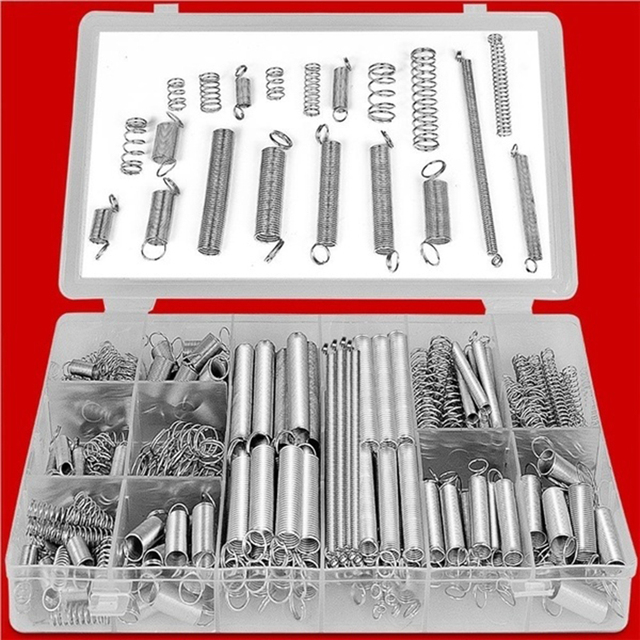 Spring Pressure Spring Practical Metal 200pcs/Box Spacer Tool Parts Mechanical Industry Coil Spring