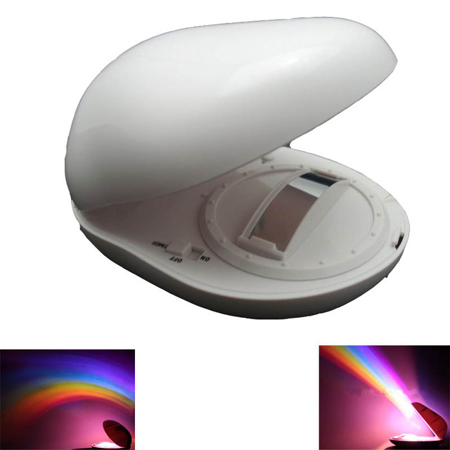 Glow Party projector mini LED Rainbow Projector Christmas gift Romantic Rainbow laser Lamp Light Projector