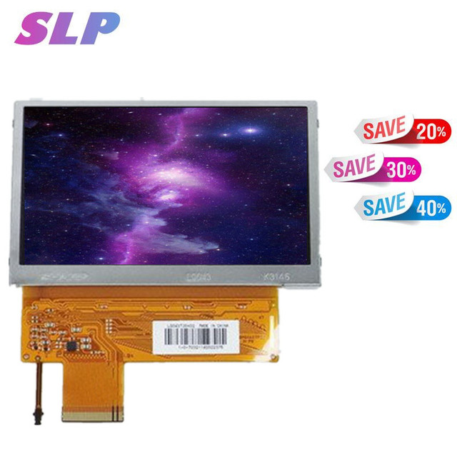 Skylarpu 4.3inch LCD panel for SHARP LQ043T3DX01 LQ043T3DX02 LQ043T3DX03 GPS navigation LCD display screen panel Free shipping
