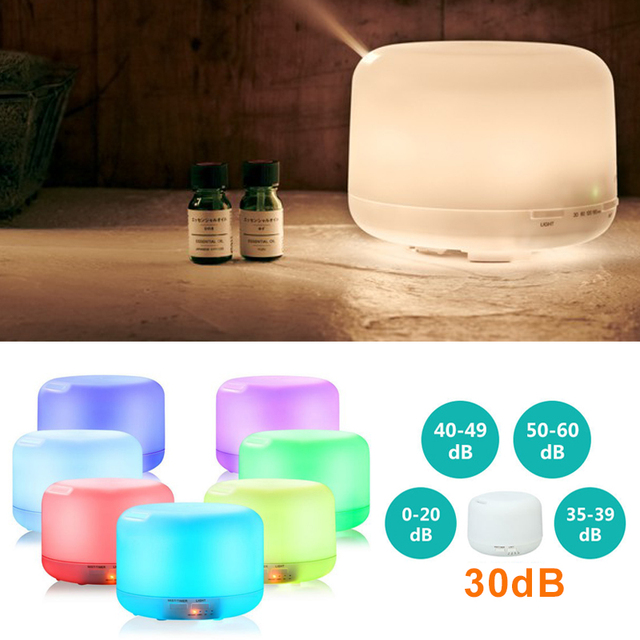 2019 Drop Shpping 7 LED Lights Ultrasonic Diffuser Ultrasonic Humidifier Romantic Creative Bedroom Aromatherapy Diffuser