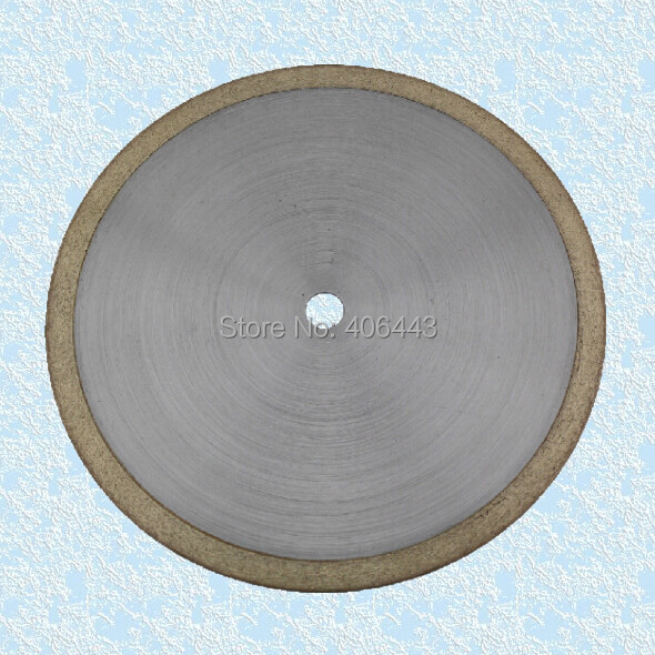 "8"" Ultra Thin Continuous Rim Diamond Sintered Lapidary Blades"