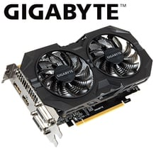 Gigabyte graphic card gtx 950 video card Powered by NVIDIA GeForce GTX 950 GPU GDDR5 2GB 128-bit for pc gamer used cards