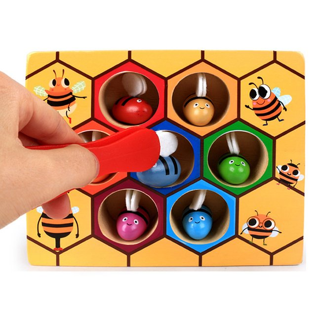 Hive Board Games Early Childhood Education Building Blocks Early Childhood Balance Training Blocks Wooden Kids Toys For Children