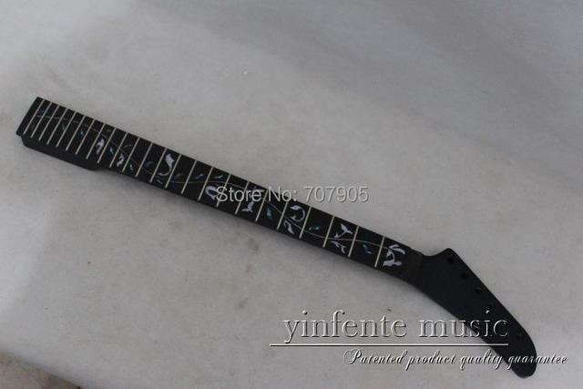 1  pcs   electric guitar neck high quality   mahogany  made  and rose wood    fingerboard
