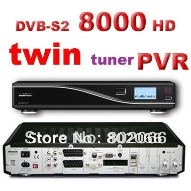 free shipping 8000hd satellite receiver  8000 TWIN TUNER DVB S2 MPEG4 hd receiver cccam rceeiver dvb s dongle sharing satellite
