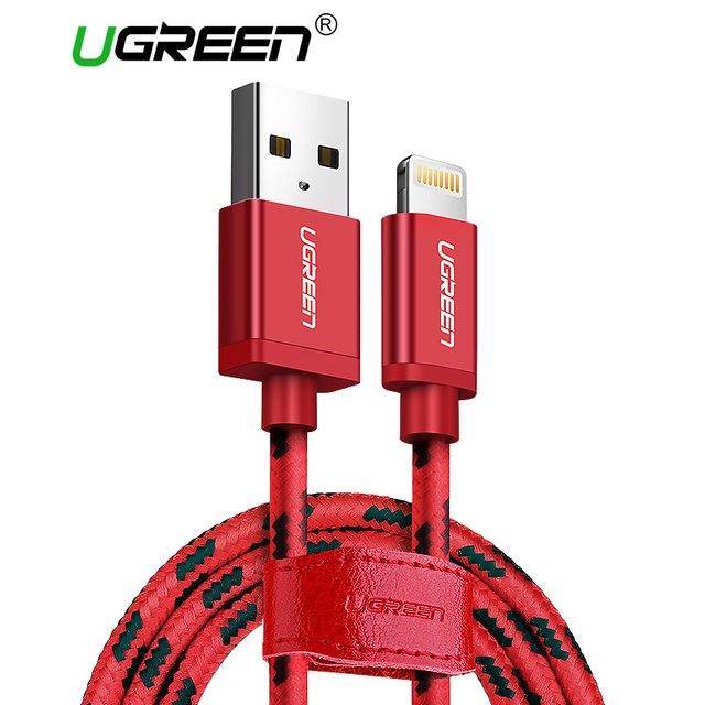 Ugreen Lightning to USB Cable for iPhone 7 MFi Certified Fast Charging Data Cable for iPhone X 8 6 5S iPad Air Mini Charge Cord