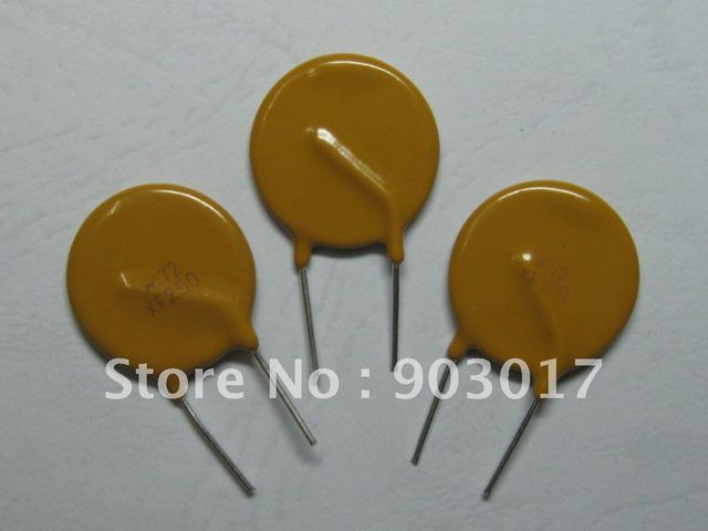 50 Pcs Radial Leaded PPTC Resettable Fuse 72V 2.5A PolySwitch New