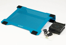 ORICO NCA-1513 -BL Full Aluminum USB MAC Laptop Cooling Pad for 14inch laptop or below with 2 removable DIY flexible 80cm fans
