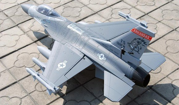 Sky flight hobby F-16 F16 fighting falcon kit format Electric single 70mm EDF Jet RC aircraft model plane r/c areoplane EPS