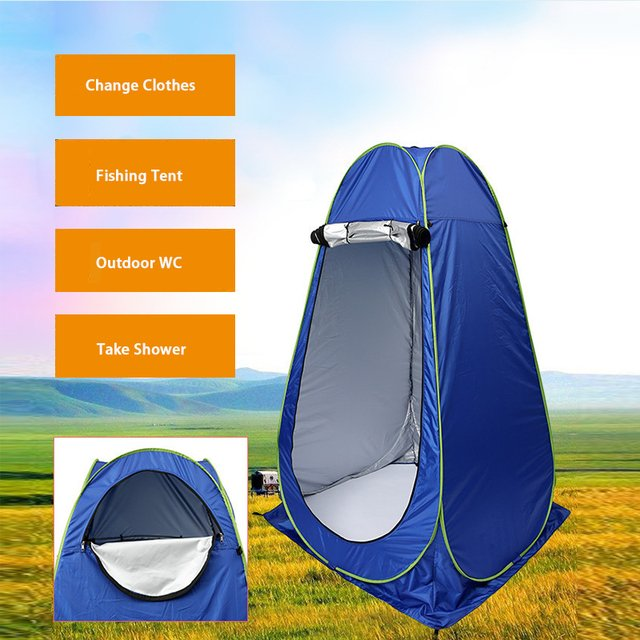 Portable Privacy Shower Toilet Camping Pop Up Tent/UV Function Outdoor Dressing Tent/photography Tent