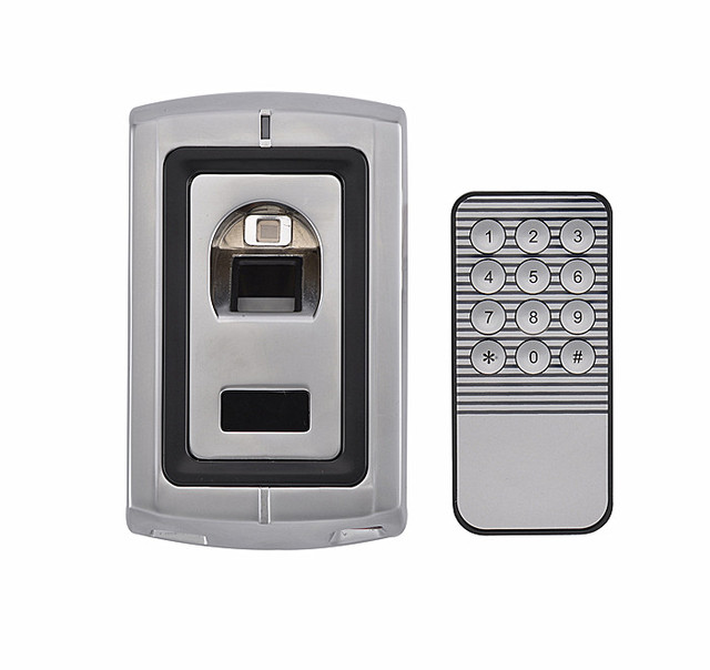 Metal Case Waterproof Access Control Fingerprint Reader Standalone Fingerprint Access Control System Can Store 120 Fingers