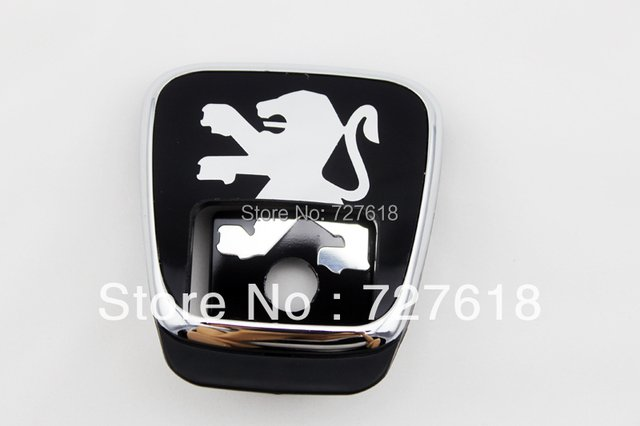 Free Shipping! BOOTH LOGO FOR PEUGEOT 406 Rear Gate Luck Emblems