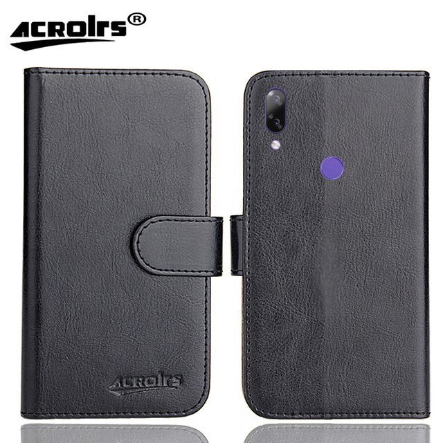 Doogee Y7 Case 6 Colors Dedicated Leather Exclusive Special Crazy Horse Phone Cover Cases Credit Wallet+Tracking