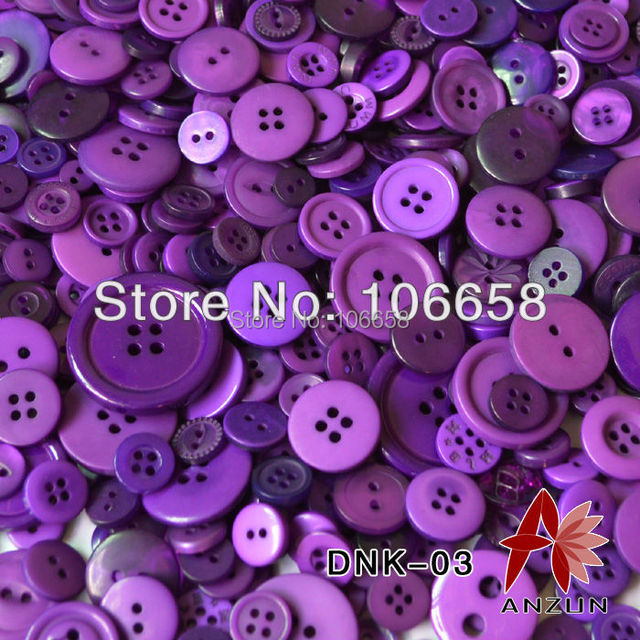 100g Mixed Button Fashion Fastener for Craft And DIY Button Mixed Design and Mixed