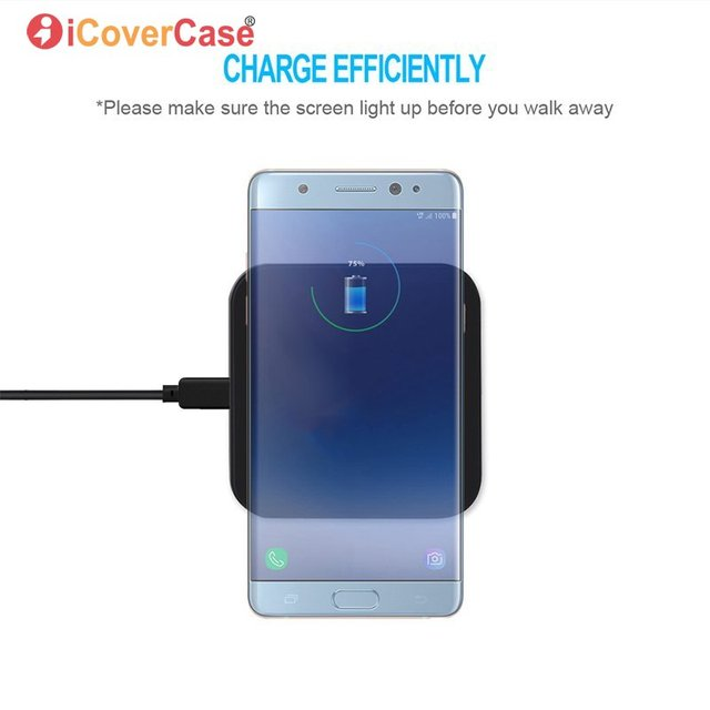 Qi Wireless Charger For Samsung Galaxy A3 A5 A7 J3 J5 J7 2017 2016 Charging Pad Adapter with Wireless Receiver Phone Charge Case