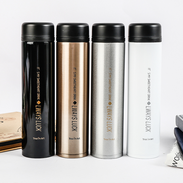 400ml Stainless Steel Thermal Cup Vacuum Flask Water Bottle Thermos Mug Portable Car Thermo Coffee Tea Bottles Thermocup