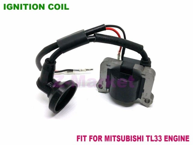 Ignition Coil for MITSUBISHI TL33 TB33 TU33 Brush Cutter.Grass Trimmer.Tiller.Gasoline Engine Garden Tools Spare Parts