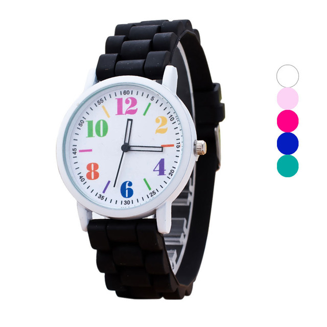 Women Fashion Candy colors Quartz Ladies Dress Watches Female Casual Wristwatch silicone Band Clocks 2016 New Style relojes