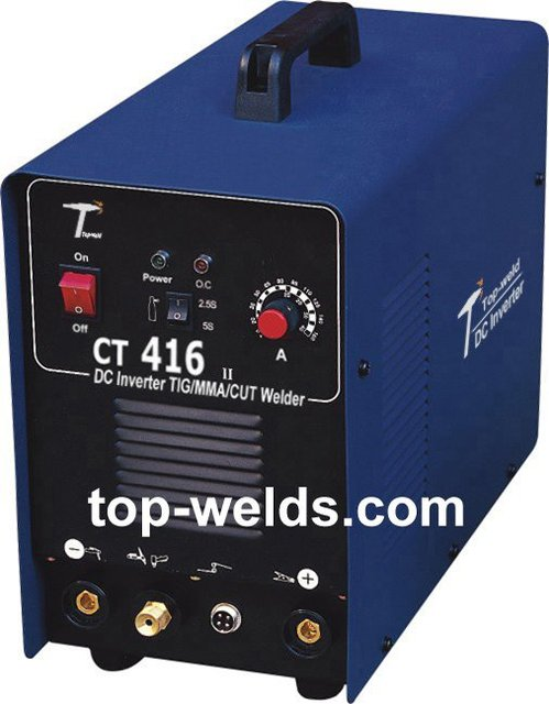DC Inverter welding machine TIG/MMA/CUT Welding machine Multi Function CT416, free shipping, wholesale/retail