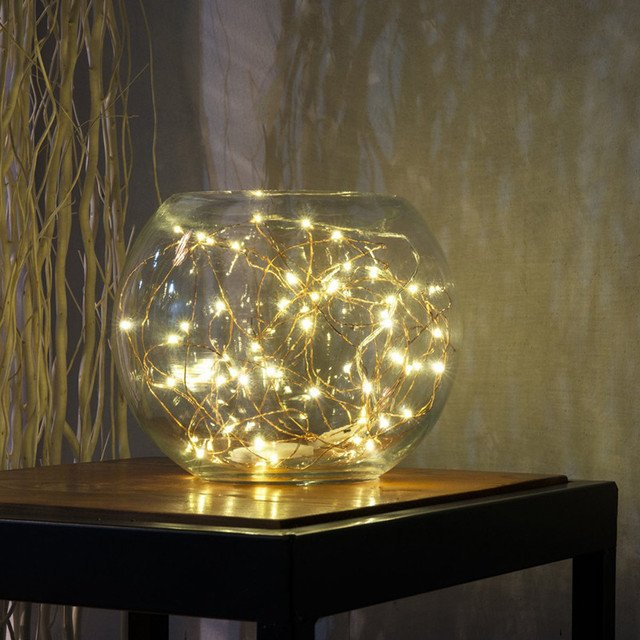 3M 30LED Night Fairy Waterproof Button Cell Powered Silver Copper Wire Mini Fairy String Lights Bottle Lamp Xmas Wedding 2019