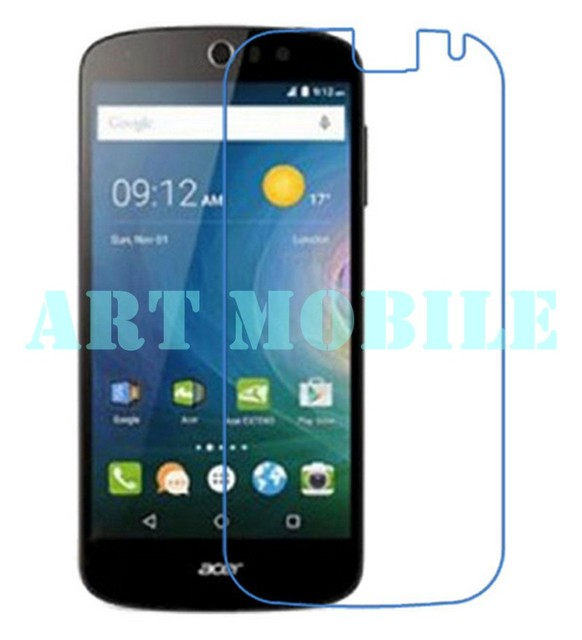 New 10pcs/lot wholesale High Clear LCD Front Screen Protector Film For Acer Liquid Z630 Protective Film Free Shipping