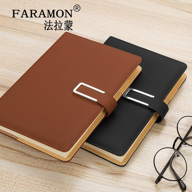 FARAMON Business Office Notebook A5 Thicker Notebook Calendar 1PCS