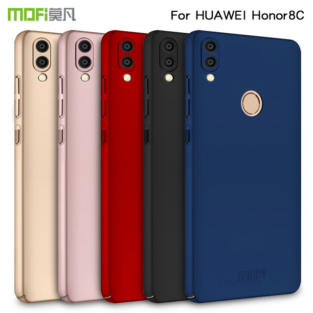 For Huawei Honor 8C Case MOFi Luxury Phone Shell Hard PC Protective Back Cover Case Cover Phone Case for honor 8c 6.26""