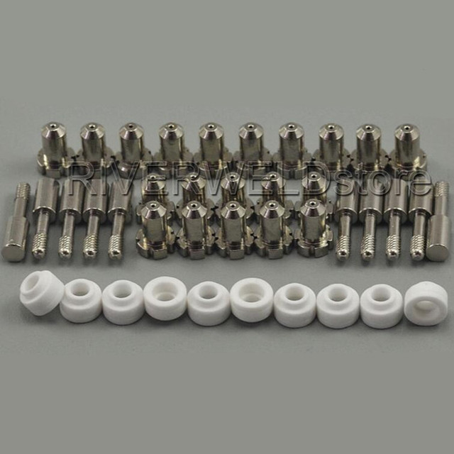 8-3218 Tips 9-6006 Electrodes 8-3233 Gas Distributor KIT For Thermal Dynamics Dynapak 110/ PAK 2XT PCH-20,40PK