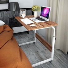 Adjustable Portable Computer Table Laptop Desk Rotate Laptop Bed Table Can Be Lifted Standing Desk Stand Notebook Side Table
