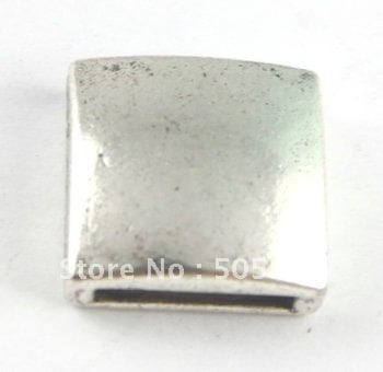 30PCS Tibetan silver square spacer for band A15499