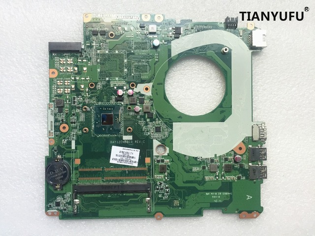 Free shipping For HP PAVILION 17-F230CA Laptop Motherboard 787484-501 787484-001 DAY12EMB6C0 Motherboard tested work