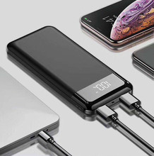 For Iphone Xiaomi Huawei freeshipping Led 30000mah Power Bank External Battery Poverbank Powerbank Portable Mobile Phone Charger