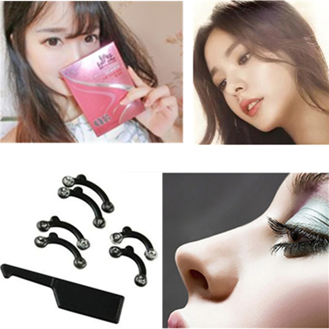 20boxes Beauty Nose Up Lifting Bridge Shaper Clip Massage Tool No Pain Nose Shaping Clip Clipper Women Girl Massager Tool
