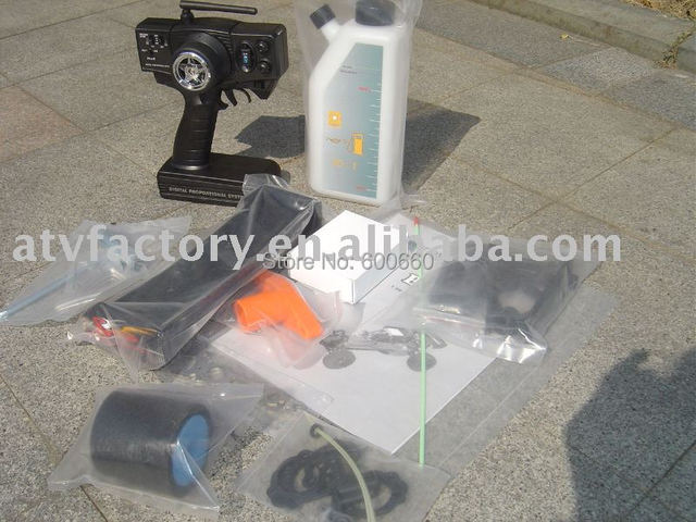 spare parts remote control transmitter + air filter foam + wing+ repair tool + fuel can tank